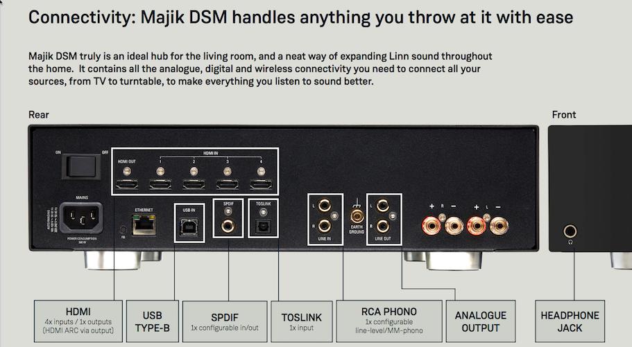 Next gen Majik DSM at Basil Audio.