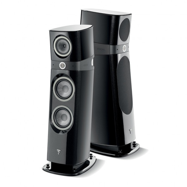 Focal Sopra 3 in high gloss black finish from Basil Audio