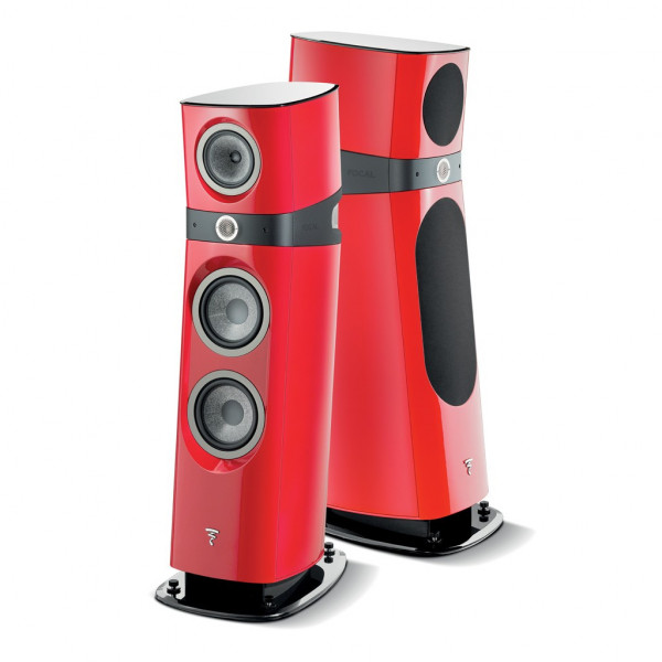 Focal Sopra 3 in high gloss red finish from Basil Audio