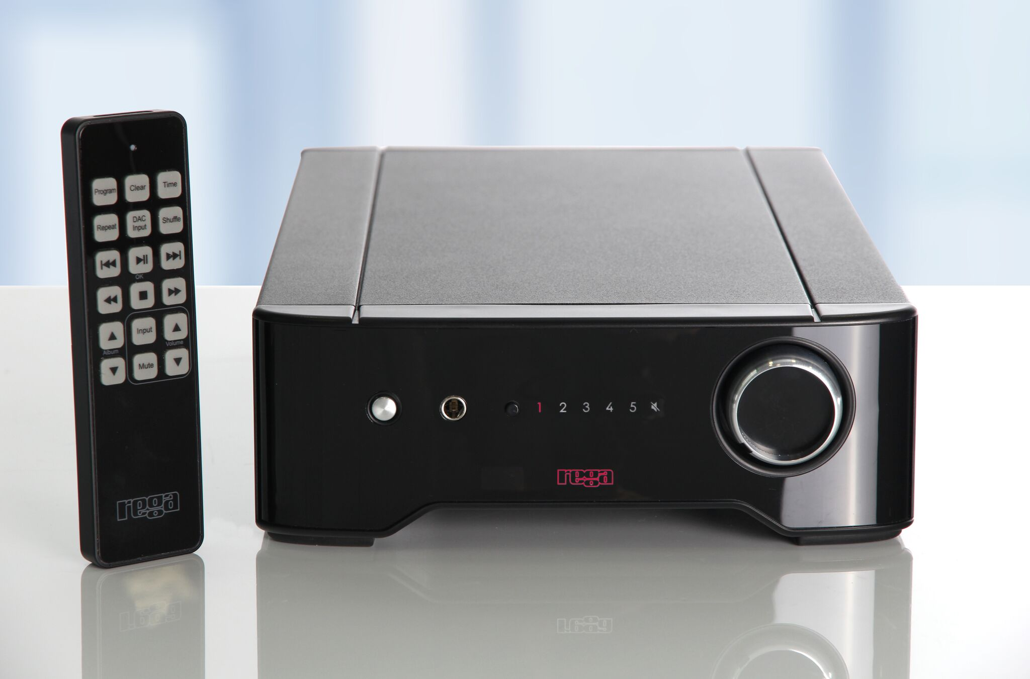 Rega Brio Integrated stereo amplifier from Basil Audio