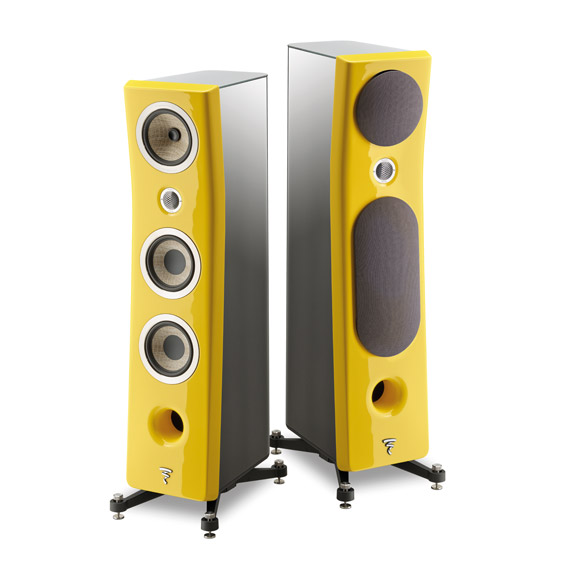 Focal Kanta No2 - Black Body / Solar Yellow