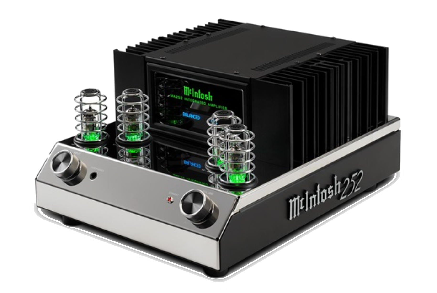 MA252 2-Channel Integrated Amplifier  Hybrid design: vacuum tube preamp and solid state power amp 100 Watts into 8 Ohms 160 Watts into 4 Ohms