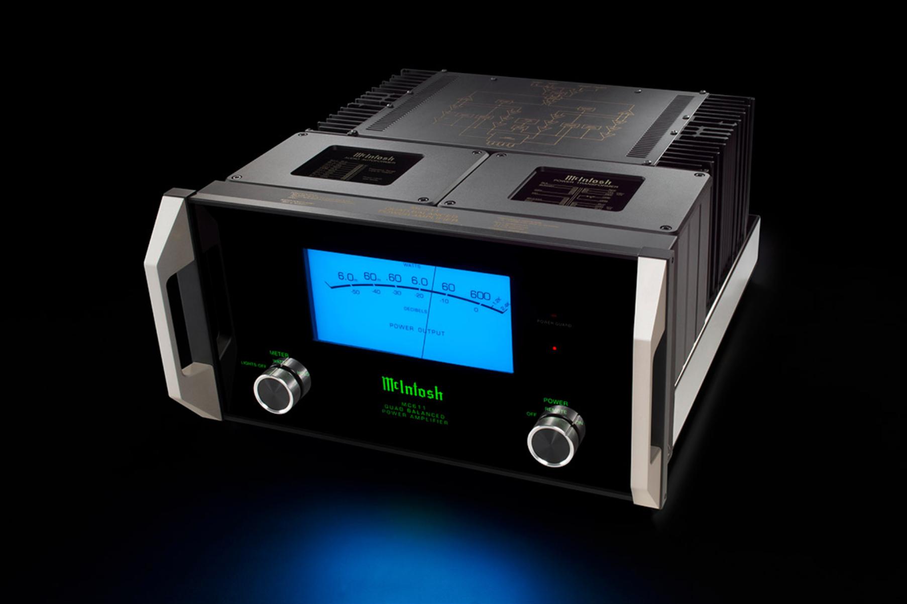 Mcintosh Mp1100 Vacuum Tube Phono Preamplifier Modular Mc611 Power Amplifier