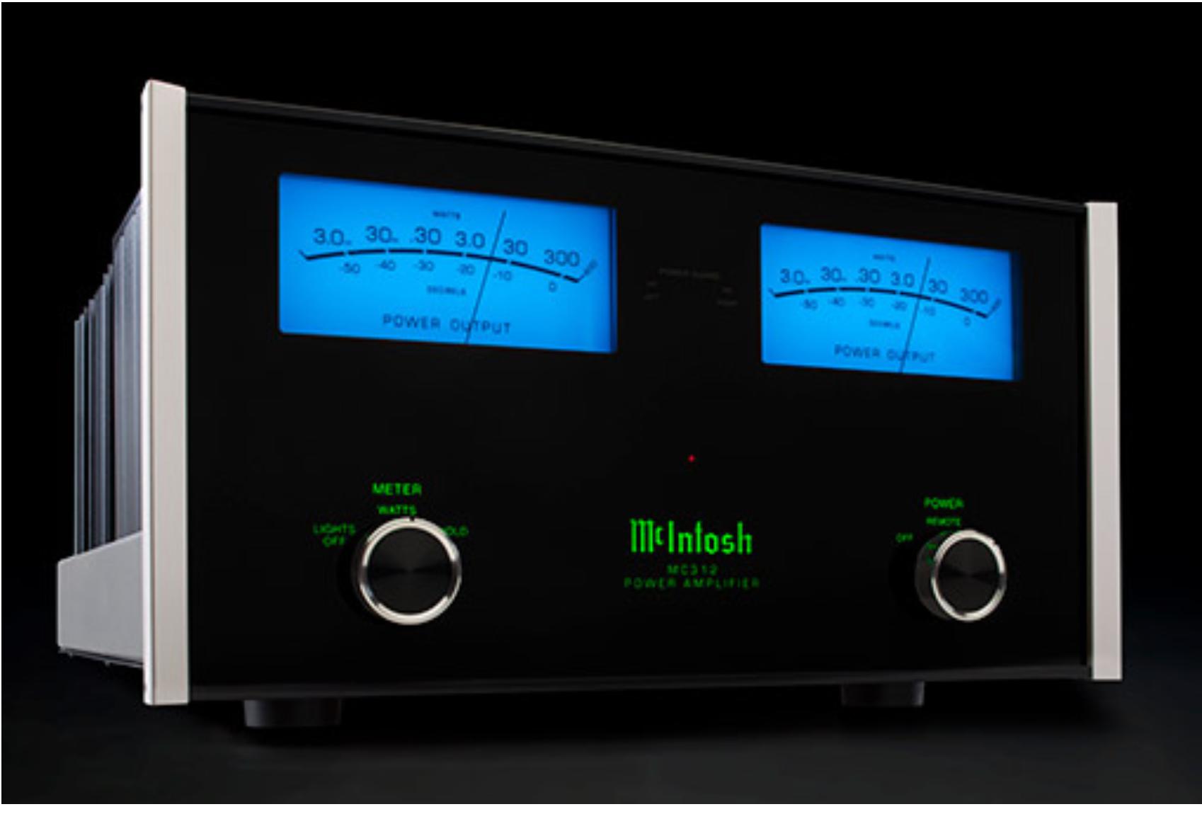 McIntosh, power amplifier
