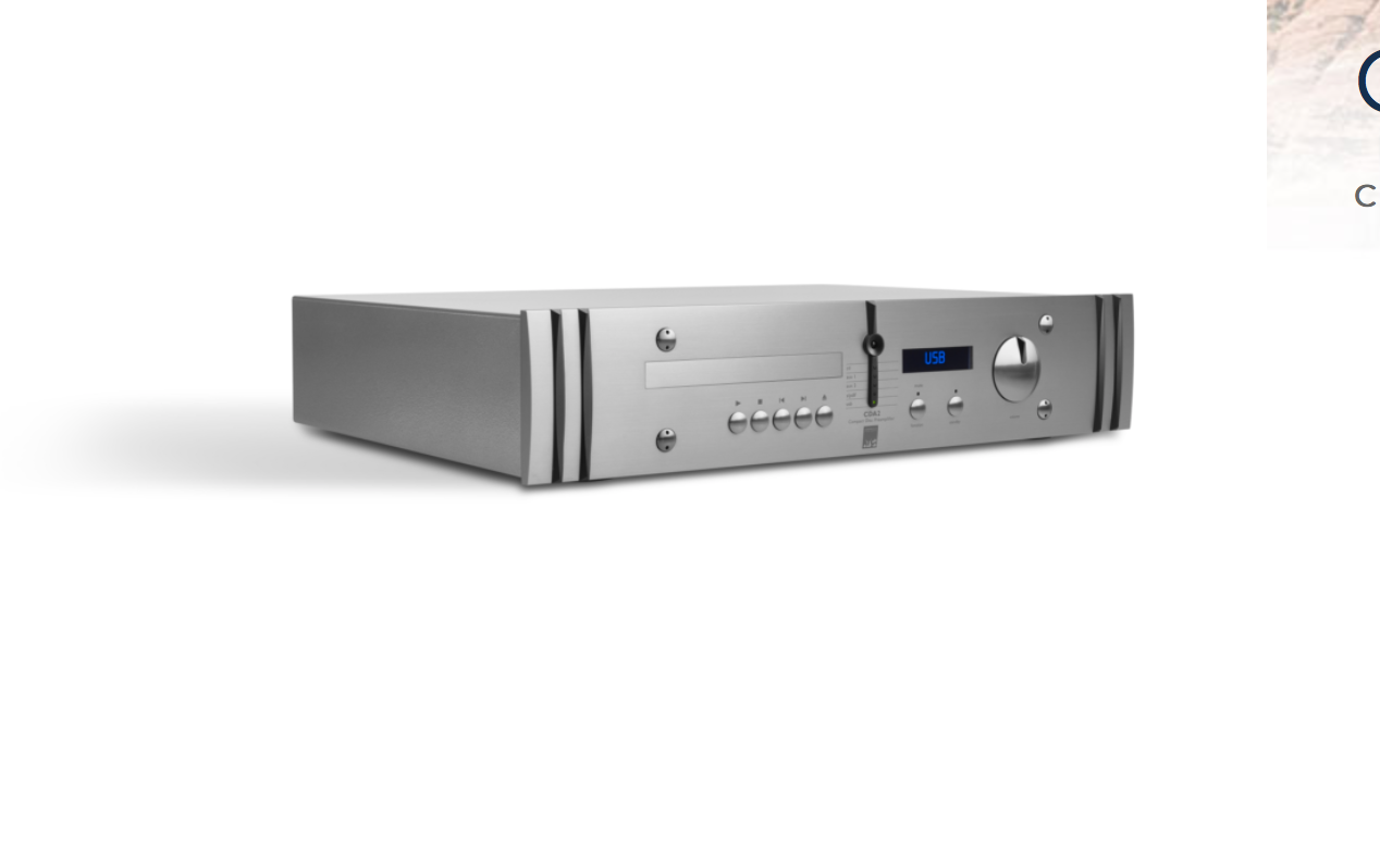 Preamplifier, DAC, CD