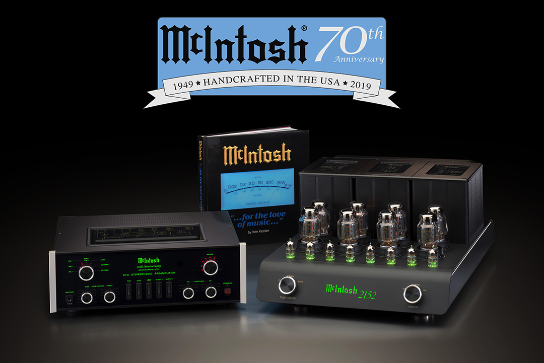 McIntosh MC2152 70th Anniversary Stereo Tube Power Amplifier