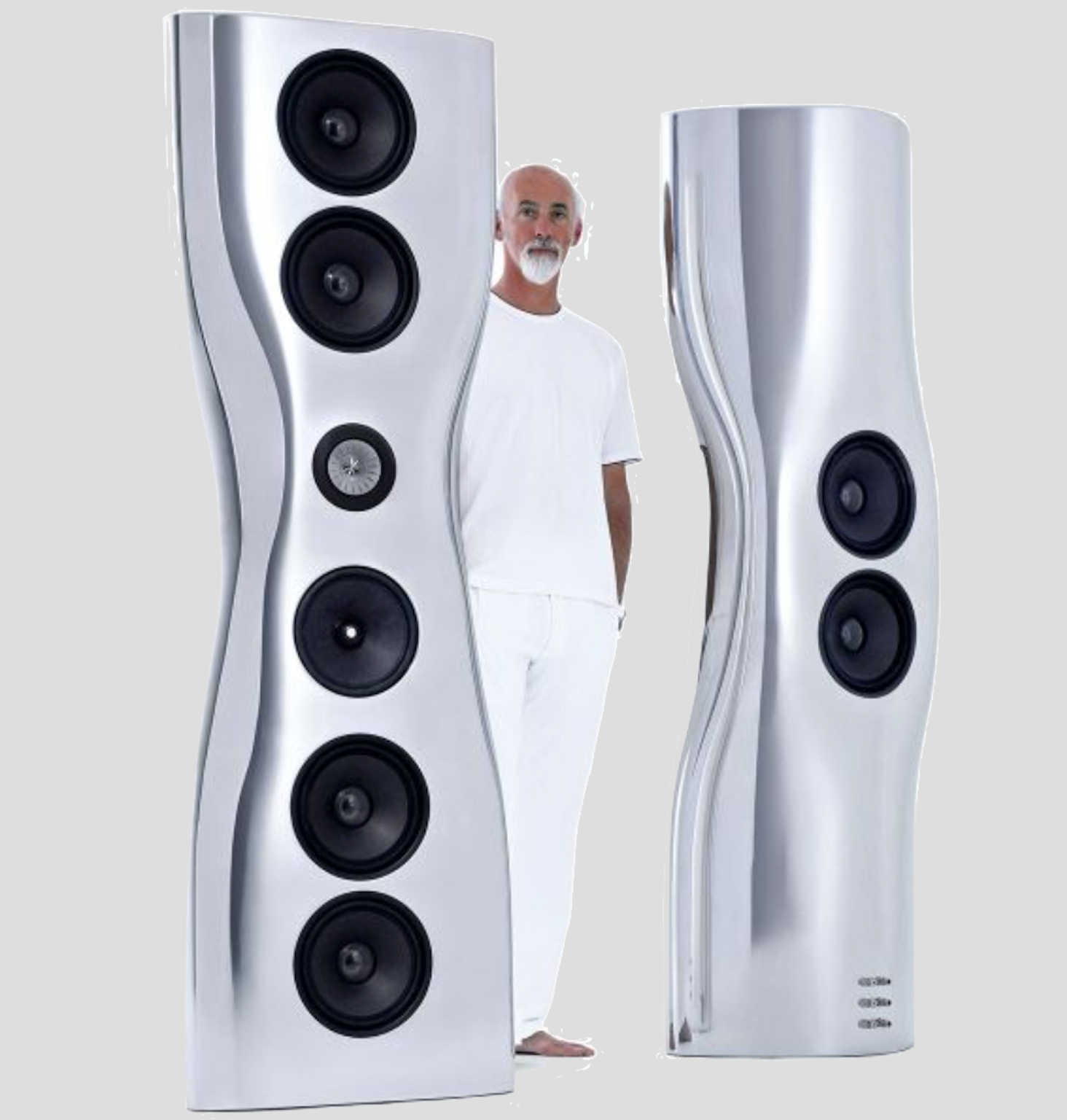 KEF, loudspeaker, Ross Lovegrove, limited edition