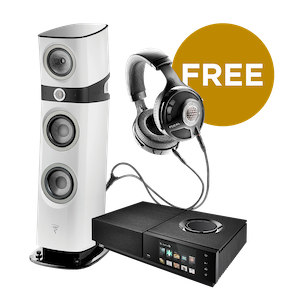 Purchase a pair of Focal Sopra 2s with a Naim Uniti Nova music system from Basil Audio and get a free pair of Focal Utopia headphones
