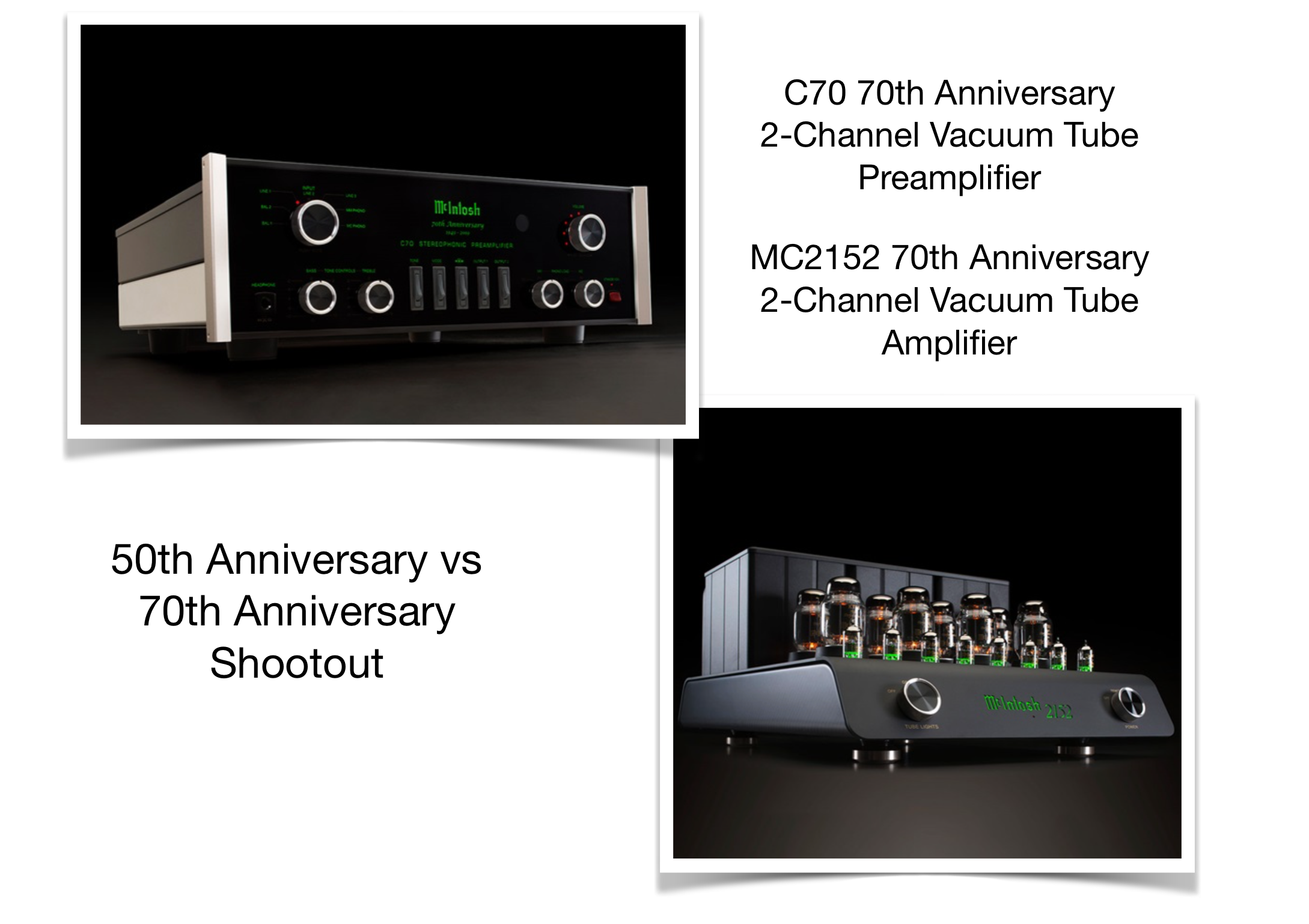 McIntosh 7oth Anniversary Event at Basil Audio