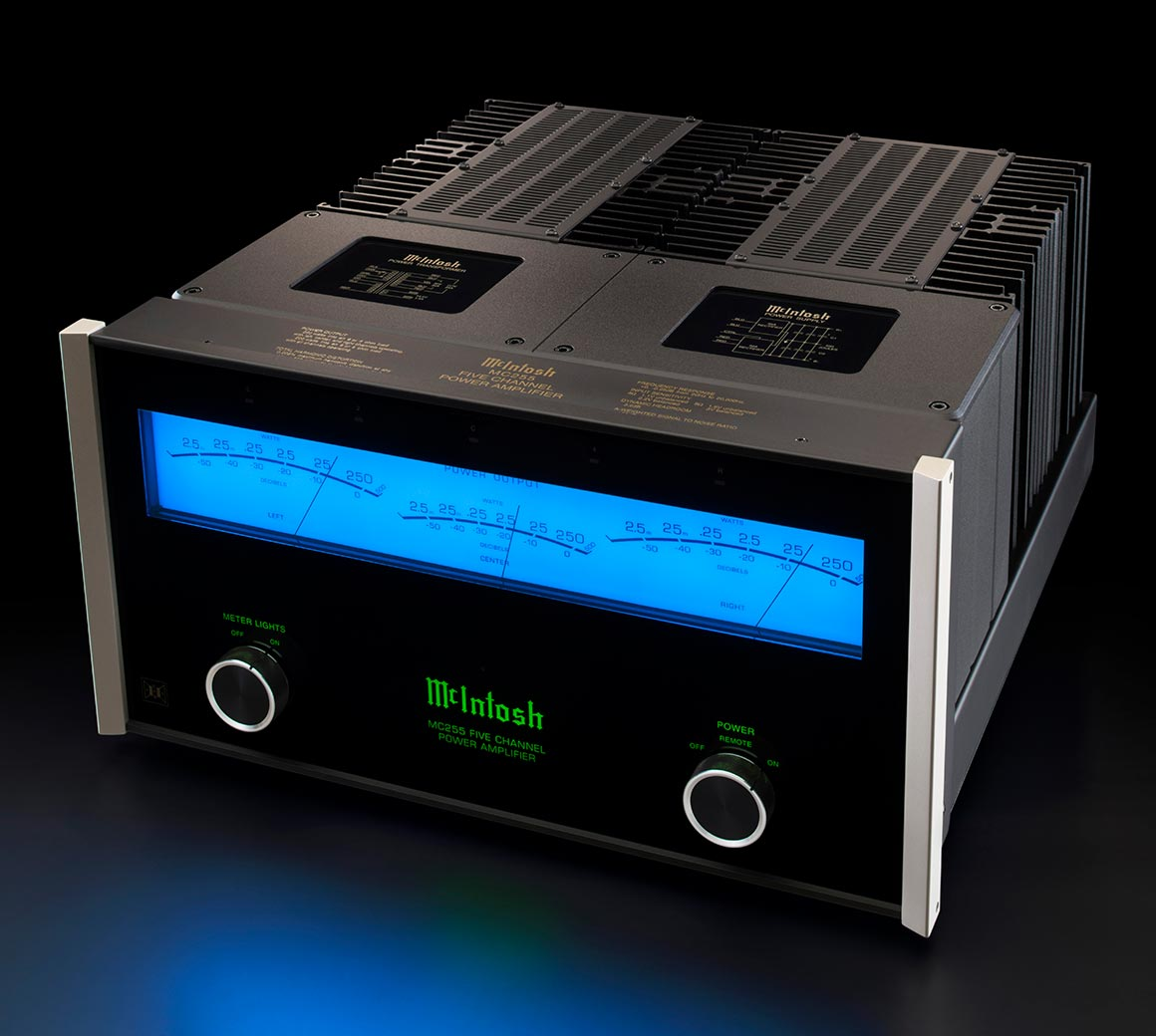 McIntosh MC255 5-Channel Solid State Amplifier from Basil Audio