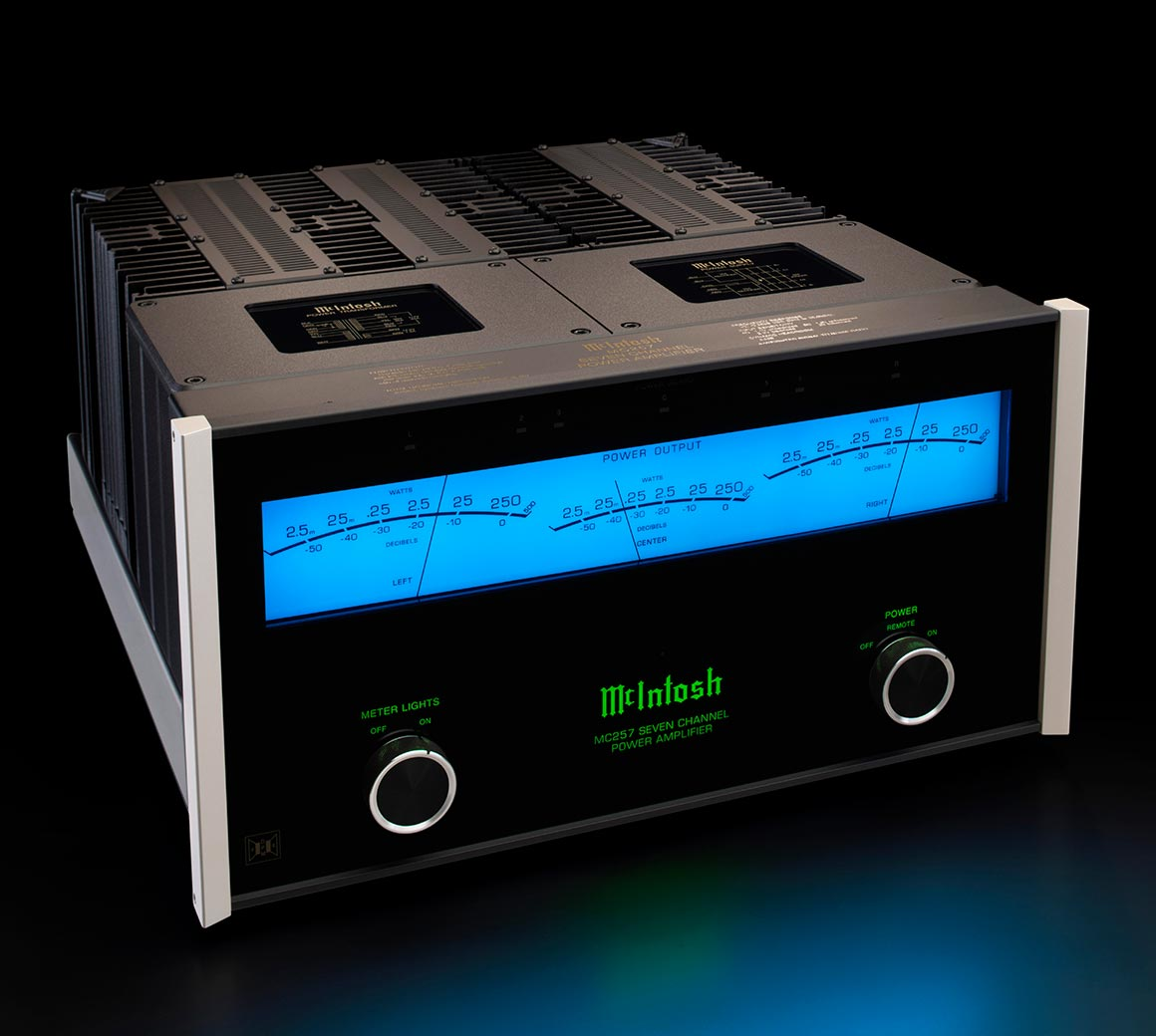 McIntosh MC257 7 channel solid state amplifier from Basil Audio