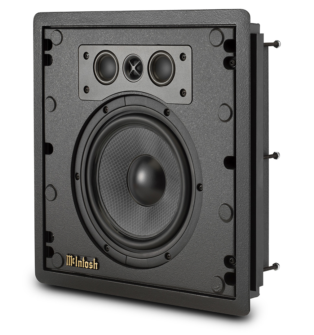WS300 in wall speakers from McIntosh at Basil Audio