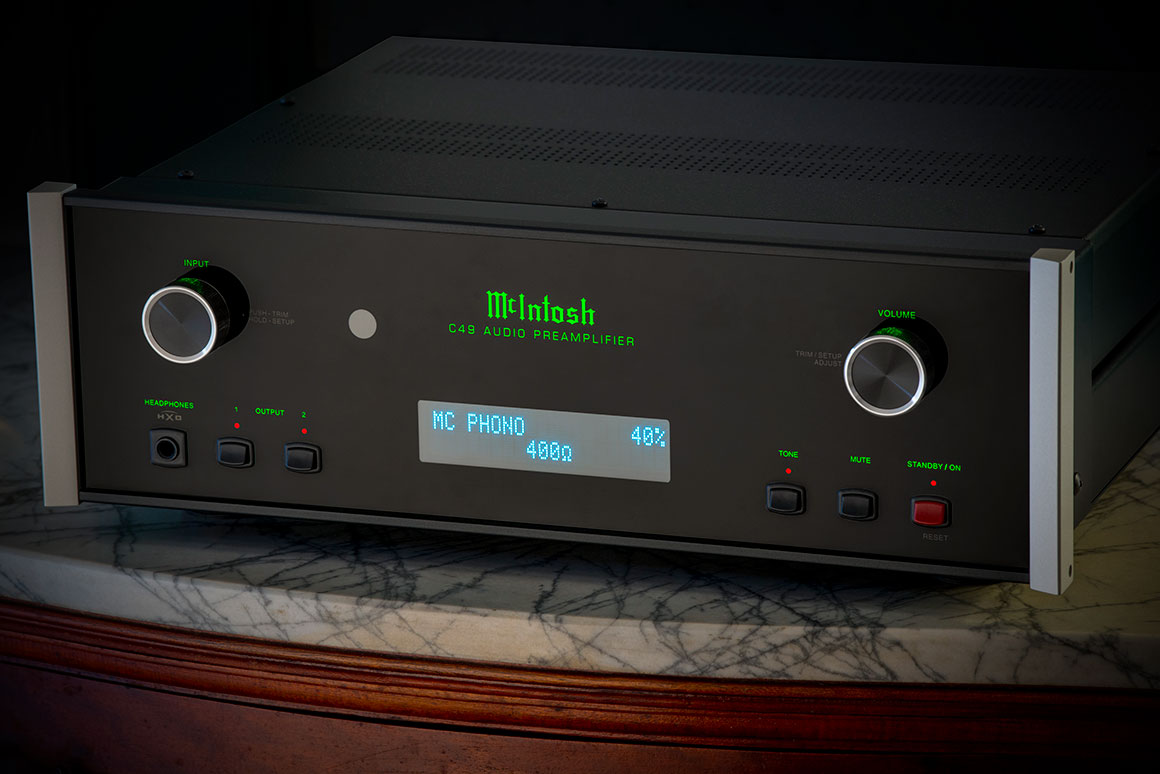 McIntosh C49 Preamp Control Center