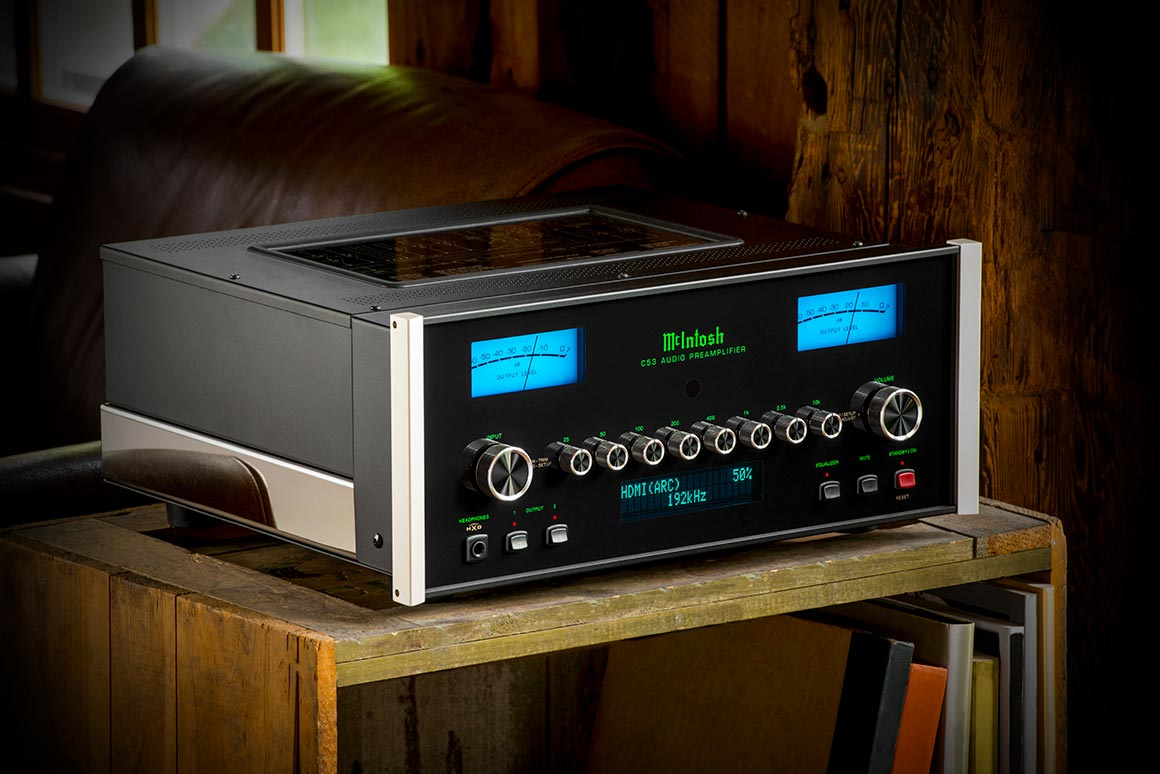 McIntosh C53 Preamp Control Center at Basil Audio