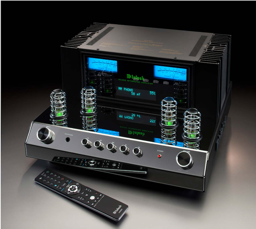 Integrated Amplifier, McIntosh, MA352, 2-Channel