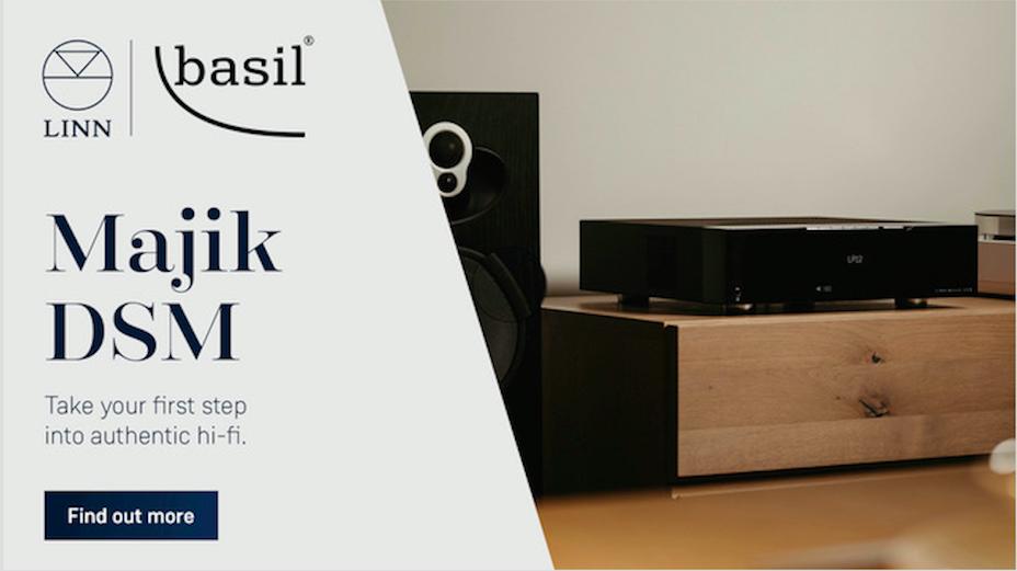 At Basil Audio Linn's next generation Majik DSM