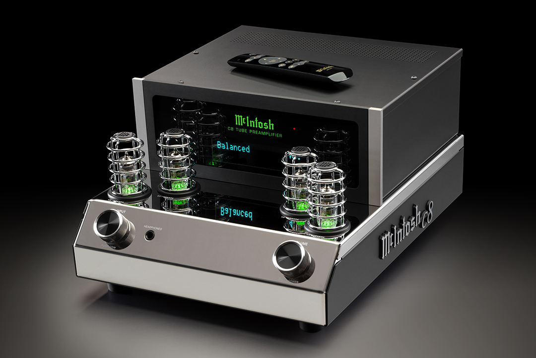 McIntosh C8 Preamplifier from Basil Audio