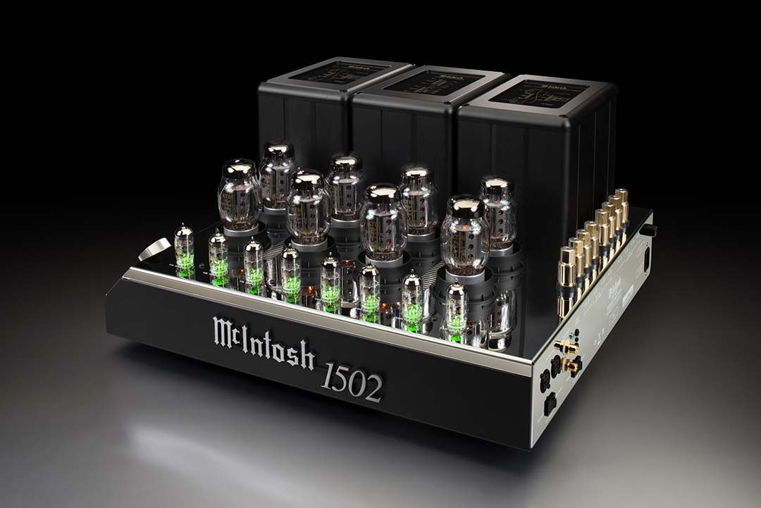 McIntosh MC1502 Power Amplifier from Basil Audio, a McIntosh Platinum Dealer in California
