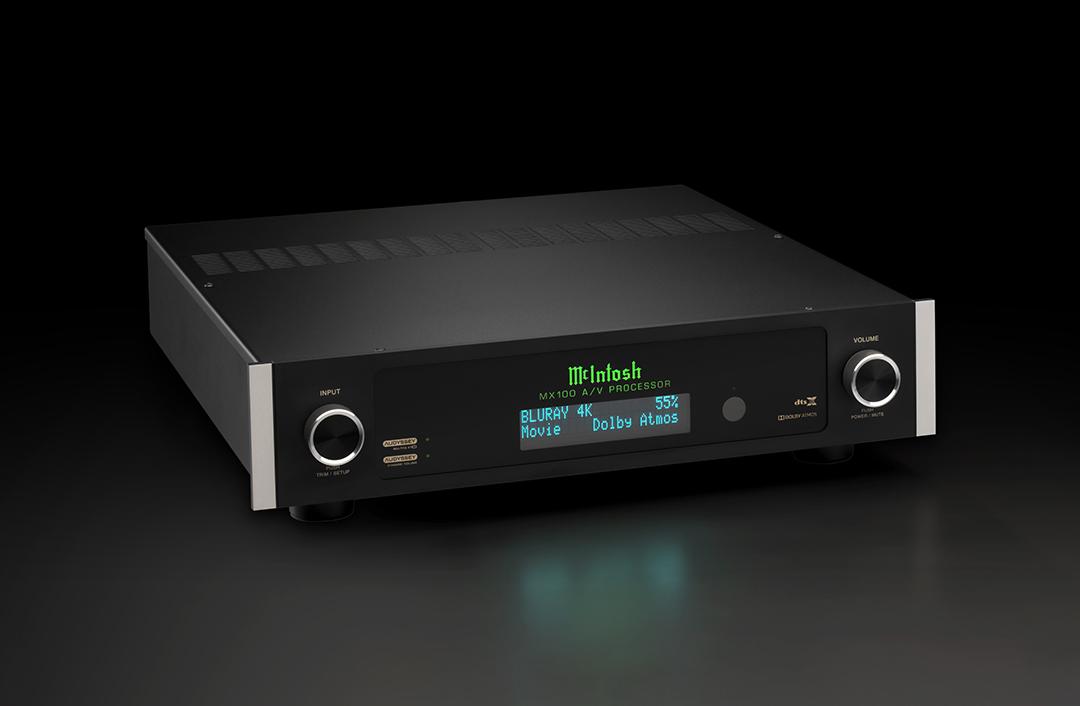 McIntosh MX100 A/V Processor from Basil Audio, a McIntosh Platinum Dealer in California