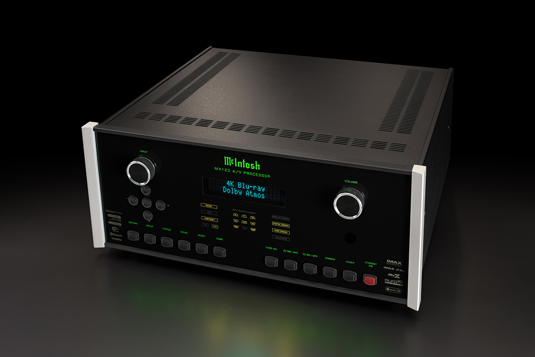 McIntosh MX123 A/V Processor from Basil Audio, a McIntosh Platinum Dealer in California