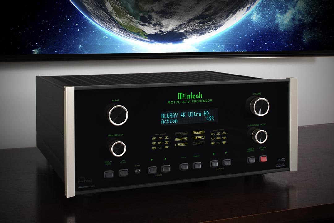 McIntosh MX170 A/V Processor from Basil Audio, a McIntosh Platinum Dealer in California