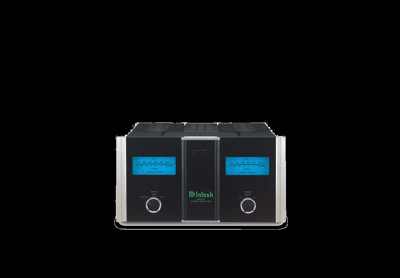 McIntosh MC402 Power Amplifier from Basil Audio, a McIntosh Platinum Dealer in California