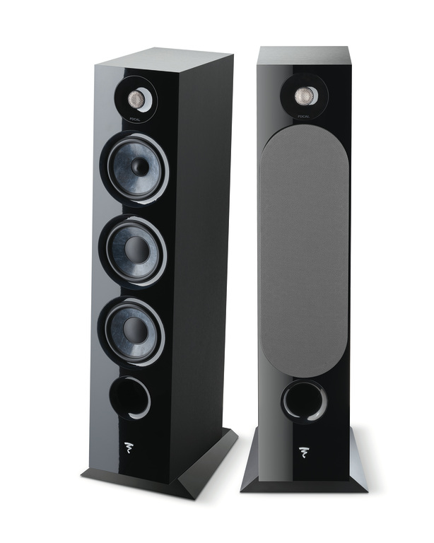 Focal Chora 826 Floorstanding Speaker in Black Finish From Basil Audio
