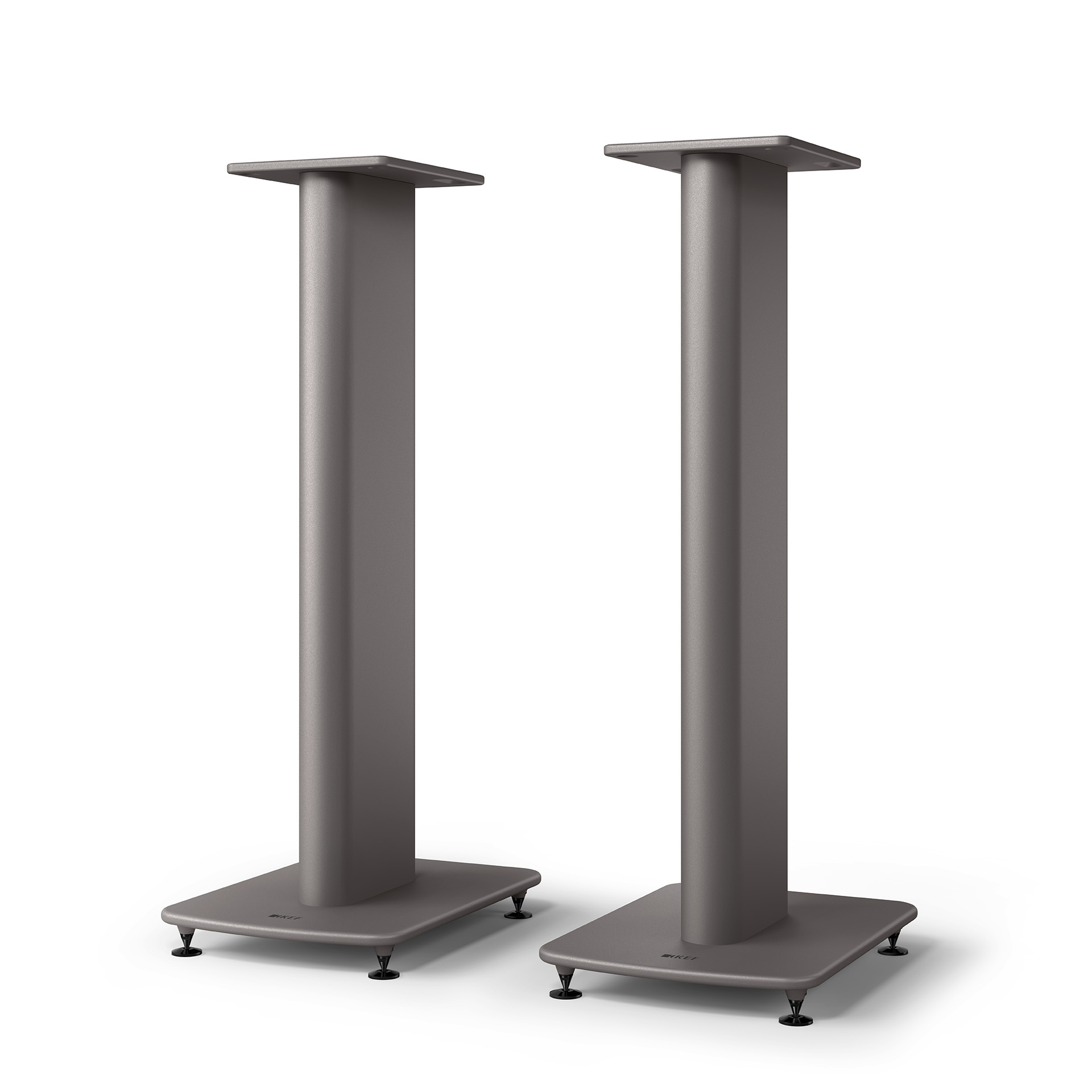 KEF S2 Titanium Gray Speaker Stand from Basil Audio