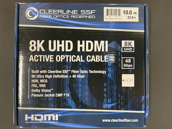 8K UHD HDMI Active Optical Cables from Basil Audio