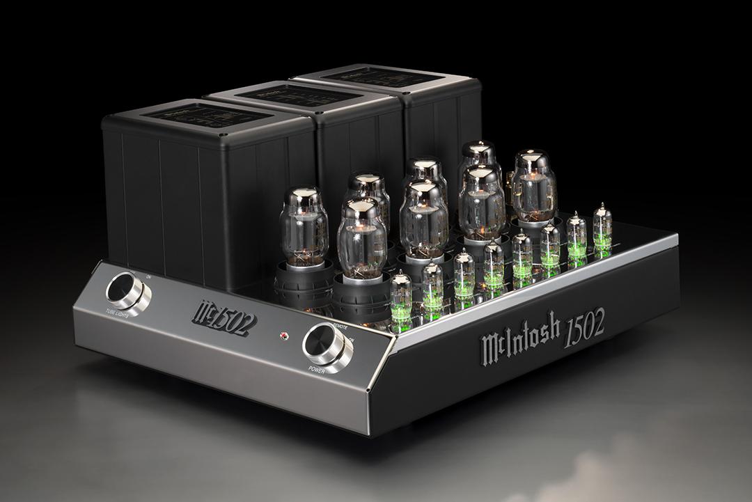 McIntosh MC1502 2-Channel Vacuum Tube Amp from Basil Audio